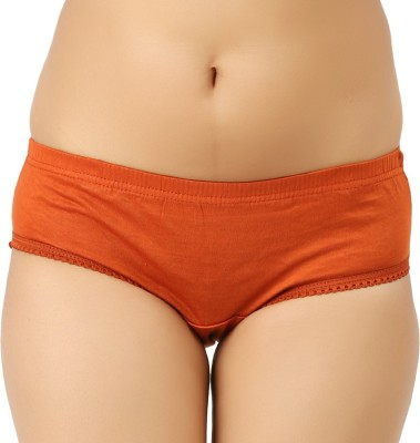 Vaishma Women's Brief Orange Panty(Pack of 1)  available at flipkart for Rs.103