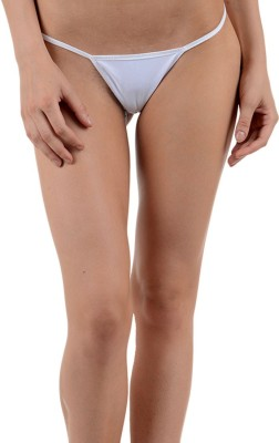 Muquam Women Bikini White Panty(Pack of 1) at flipkart