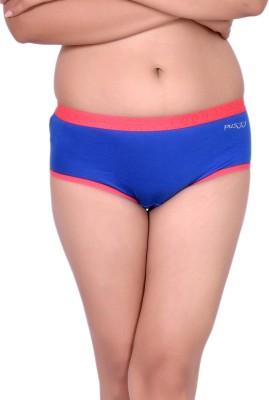 Pusyy Women Hipster Dark Blue Panty(Pack of 1)