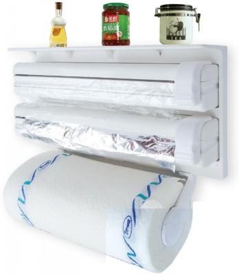 Shopo Triple Wrap Aluminium Foil Roll Holder SM54 Paper Dispenser  available at flipkart for Rs.699