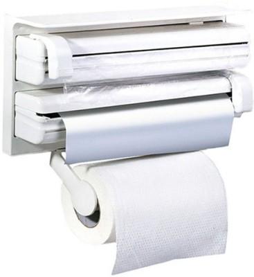 Shopo Triple Wrap Aluminium Foil Roll Holder SMC0007 Paper Dispenser  available at flipkart for Rs.729