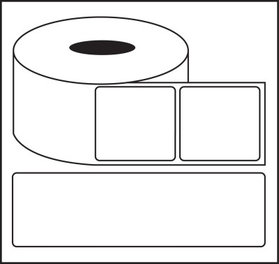 Nplabel Barcode Label 100X75MM Self-adhesive Paper Label(White) at flipkart