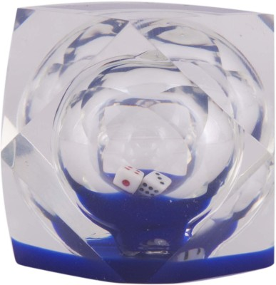 Dolphin Premium Acrylic Paper Weights  with Crystal(Set Of 1, Blue)