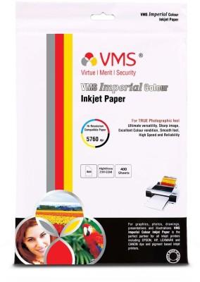Colorite 270gsm Rc Inkjet Waterproof Unruled 4R Photo Paper(Set of 1, White)