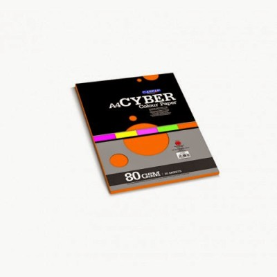 Campap Cyber Unruled A4 Multipurpose Paper(Set of 5, Assorted)