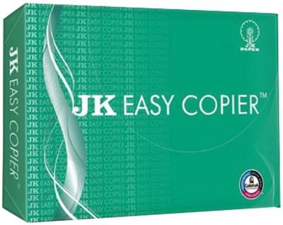 JK Easy Copier Unruled 4R Printer Paper(Set of 1, White)  available at flipkart for Rs.250
