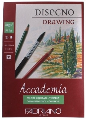 Fabriano Accademia A5 Drawing Paper