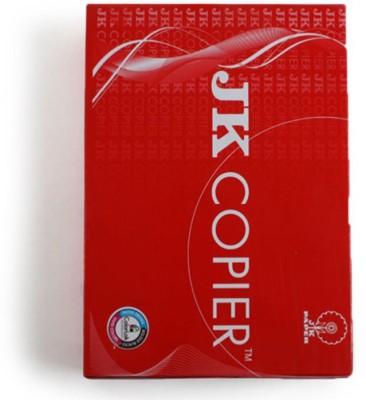 JK Copier Impress Unruled A4 Printer Paper(Set of 1, White)  available at flipkart for Rs.270