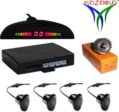 Kozdiko RPSB117 Premium Quality Car Black Reverse Sensors 4 Pcs RMA117 Parking...
