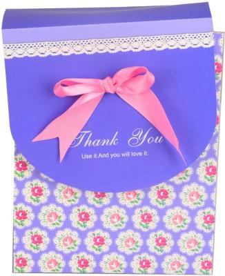 Enwraps Printed Party Box Purple, Pack of 4