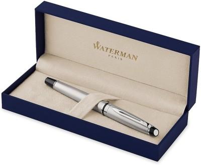 Waterman Expert Stainless Steel CT Roller Ball Pen