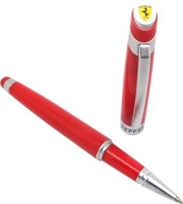 Sheaffer Ferrari Taranis Rosso Corsa Chrome Trim Roller Ball Pen