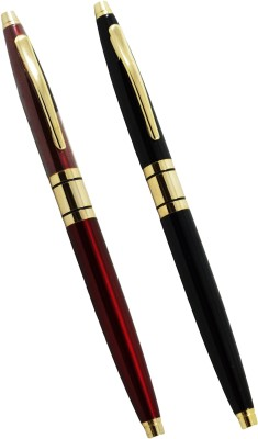 Auteur Slim Body Special Edition Roller Ball Pen Pen Gift Set(Pack of 2)