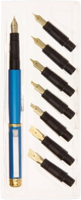 Neo Gold Leaf Pen Set Calligraphy(Pack of 8)  available at flipkart for Rs.299