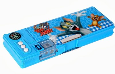 Warner Bros. Tom and Jerry Character Face Art Plastic Pencil Box(Set of 1, Blue)  available at flipkart for Rs.399