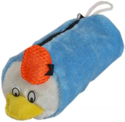 Tickles Pencil Pouch Multipurpose Bag Art Pile Cloth Pencil Box Set of 1, Blue Tickles Toys