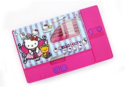 Shopaholic NA Hello Kitty Art Plastic Pencil BoxSet Of 1 Multicolor