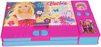 Sae Fashions Barbie Movie Character Art Plastic Pencil Box(Set of 1, Multicolor)