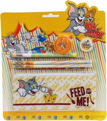 Warner Bros. Tom & Jerry Plastic Pencil Box(Yellow)  available at flipkart for Rs.119