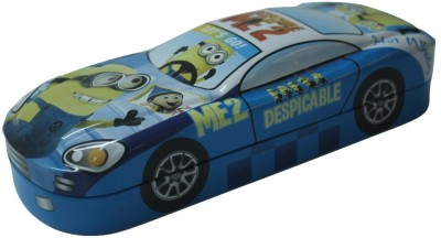 Siltason Shakti MINION CARTOON CHARACTER Art METAL Pencil Box(Set of 1, BLUE & YELLOW)