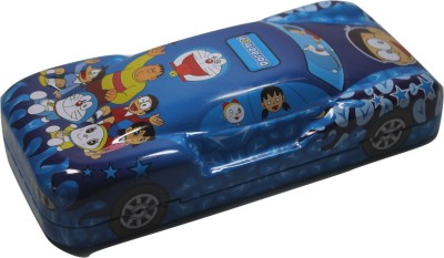Siltason Shakti DORAEMON CARTOON CHARACTER Art METAL Pencil Box(Set of 1, Blue)