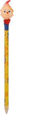 Global Gifts GB6 Round Shaped Pencils(Set of 1, Yellow)  available at flipkart for Rs.170