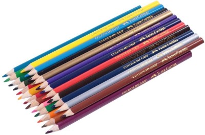 Faber-Castell Color Me Round Shaped Pencils(Set of 24, Multicolor)  available at flipkart for Rs.160