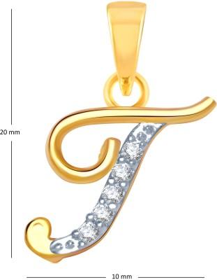 VK Jewels Lord Balaji Gold-plated Cubic Zirconia Alloy Pendant