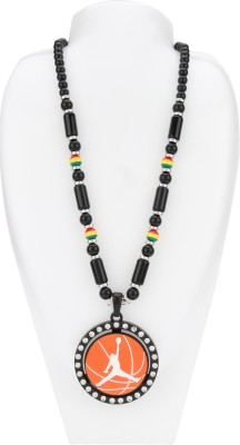 Vaishnavi Latest Design HIP-HOP volley wp Design Spinning Stylish with Beautiful Multicolour Acrylic Beads Copper Pendant at flipkart