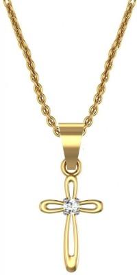 Avsar Aish 18kt Diamond Yellow Gold Pendant Avsar Pendants   Lockets