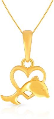 Malabar Gold and Diamonds 22kt Yellow Gold Pendant at flipkart