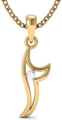 Vachya Light 14kt Diamond Yellow Gold Pendant
