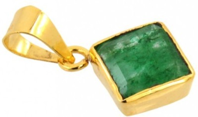 SMS Retail 3.25 Ratii Copper Emerald Stone Pendant at flipkart