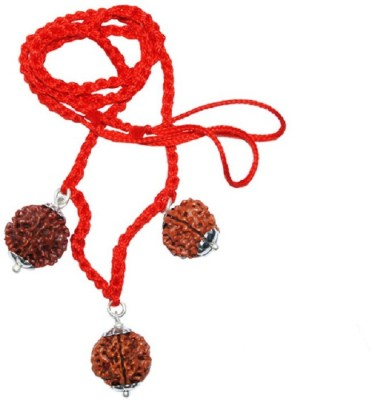 Navkaar Creation Rudraksha Combination For Power of 3 Deva (Siddha Kavach) 4,5,10 Mukhi Nepal Lab Certified Silver at flipkart