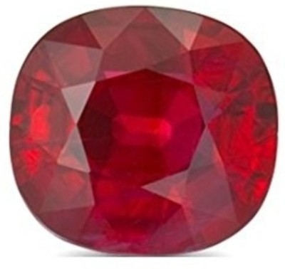 Malabar Gems Burma Ruby / Manik 14 Ratti/12.60 Carat Premium Quality Lab Certified Natural Gemstone Ruby Stone at flipkart