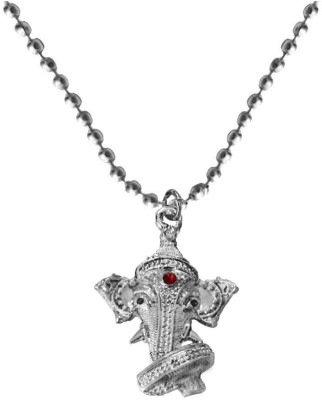 Rich & Famous Elegant Lord Ganesha Face Alloy Pendant  available at flipkart for Rs.175