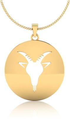 IskiUski Capricorn Rasshi 14kt Yellow Gold Pendant