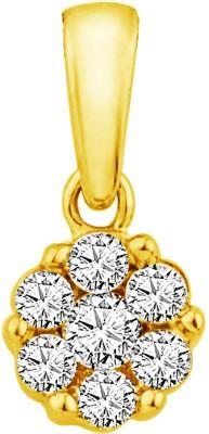 JPearls Antique 18kt Diamond Yellow Gold Pendant