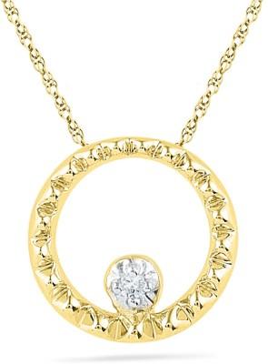 JPearls 18kt Diamond Yellow Gold Pendant