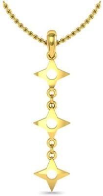 Avsar 3Start Yellow Gold Pendant