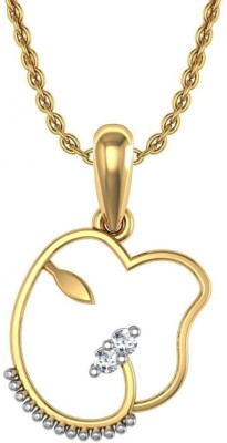 Avsar Ganesh 18kt Diamond Yellow Gold Pendant