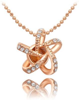 University Trendz Valentine Special UNIV_P048 18K Rose Gold Alloy Pendant