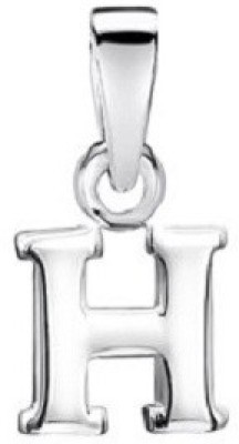 5% OFF on Kataria Jewellers Letter H 92.5 BIS Hallmarked Sterling Silver  Initial Alphabet Silver Pendant on Flipkart  8d4c8f17244