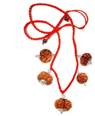 Navkaar Creation Rudraksha Combination For Protection Shield 3,8,9,10,11 Mukhi Java Certified Silver at flipkart
