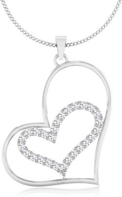 IskiUski Love for Heart 14kt Swarovski Crystal Yellow Gold Pendant