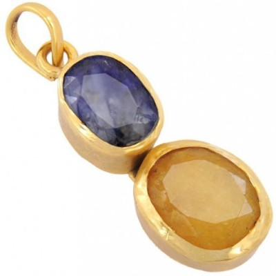 SMS Retail 3.25 Ratii Copper Sapphire Stone Pendant at flipkart