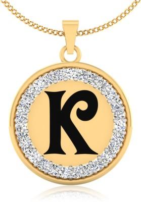 IskiUski Splendid K 14kt Diamond Yellow Gold Pendant