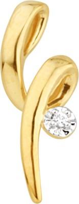 JPearls Stylish 18kt Diamond Yellow Gold Pendant