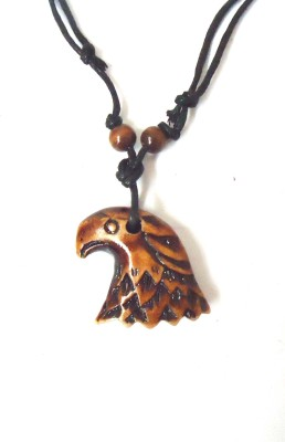 Modish Look Eagle Face Alloy Pendant  available at flipkart for Rs.299