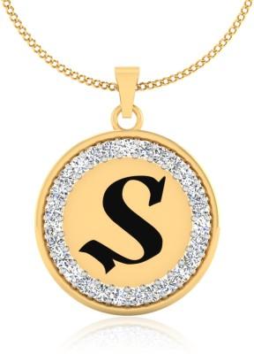 IskiUski Splendid S 14kt Diamond Yellow Gold Pendant IskiUski Precious Jewellery